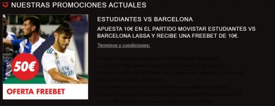 Promoción Circus Estudiantes - Barça
