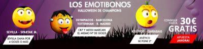 Promoción Champions League Halloween Suertia