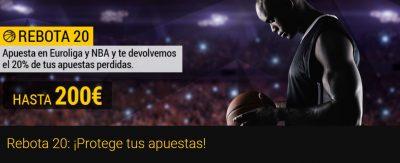 Oferta NBA y Euroliga Bwin