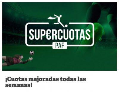 Supercuotas de PAF