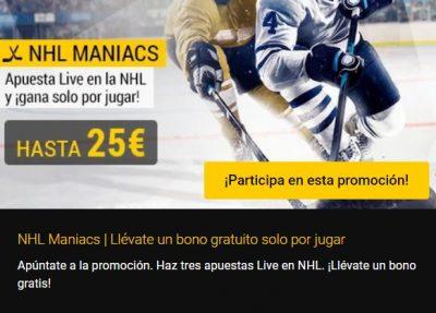 Promoción NHL Maniacs de Bwin
