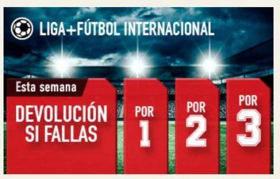 Promociones Sportium para tus apuestas de fútbol