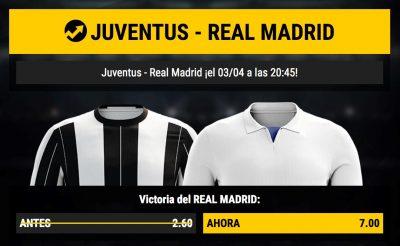 Promo Bwin: Juventus - Real Madrid