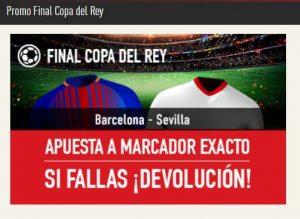 Promoción de apuestas Copa del Rey