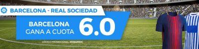 Megacuota Pastón para el Barça - Real Sociedad