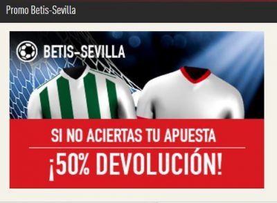 Apuestas para el Betis - Sevilla