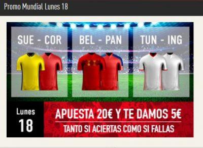 Sportium lanza promociones diarias de apuestas para el Mundial