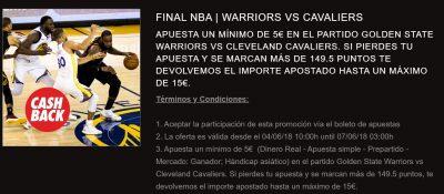 Apuestas a la final de la NBA - Promoción Circus