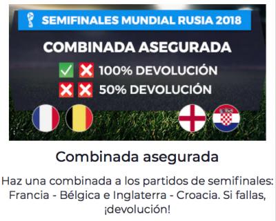 Apuestas final del Mundial, promociones Pastón para Rusia