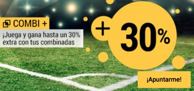 Combina y gana con Combi + Fútbol de Bwin