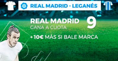 Megacuota Pastón para el Real Madrid - Leganés, LaLiga en Pastón