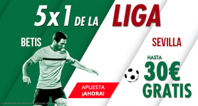 Promoción Suertia LaLiga: 5x1 para el Betis - Sevilla