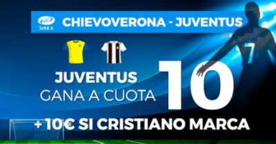 Apuestas Serie A, Cristiano Ronaldo