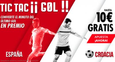 'Tic Tac Gol' de Suertia para tus apuestas España - Croacia