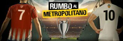 Rumbo al Metropolitano de Bwin, gana con tus apuestas de Champions