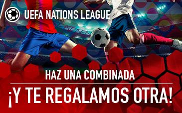 Gana más con tus apuestas Nations League, en Sportium