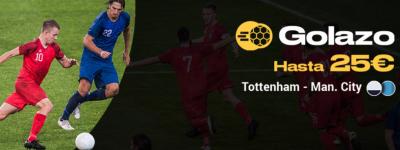 Promo Bwin para tus apuestas Tottenham - Manchester City