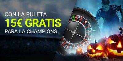 Disfruta de tus apuestas ruleta Luckia y la Champions League