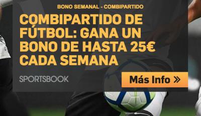 25€ gratis semanales con la promo Combipartido Betfair