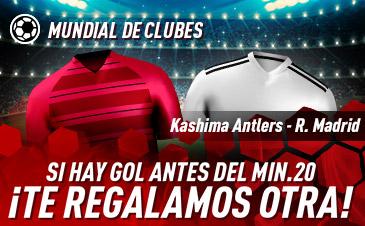Promo Sportium para tus apuestas Kashima - Real Madrid