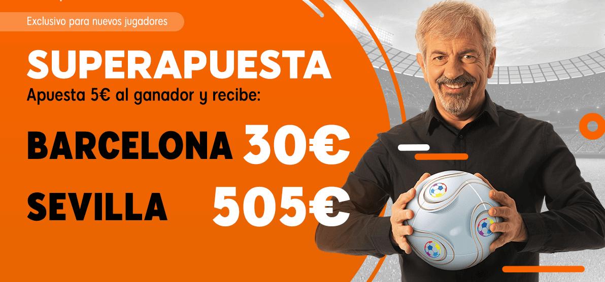 mejores cuotas Barcelona Sevilla Copa con Superapuesta 888sport