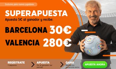 Mejor cuota Clásico de Copa del Rey con Superapuesta 888sport