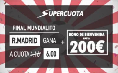 cuotas mejoradas: Apuestas especiales y Supercuota Sportium