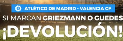 Pastón devuelve dinero de apuestas en el Atletico de Madrid - Valencia