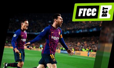 Promoción de VivelaSuerte en las apuestas del Barcelona - Liverpool de Champions