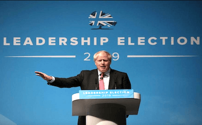Boris Johnson, favorito en las apuestas de las elecciones del Reino Unido 2019