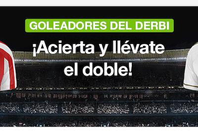 Dobla las apuestas al derbi de Madrid con la promo de Codere