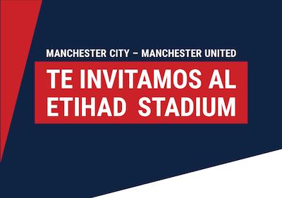 Promo Marathonbet - Viaja gratis al Derbi de Manchester entre el City y el United