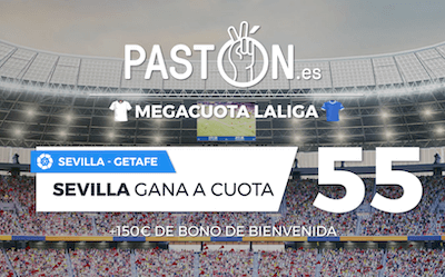 Apuestas con Megacuota en el Sevilla vs Getafe de Laliga 2019-2020