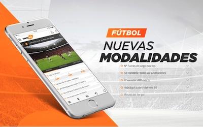 Kirolbet, nuevas apuestas de futbol