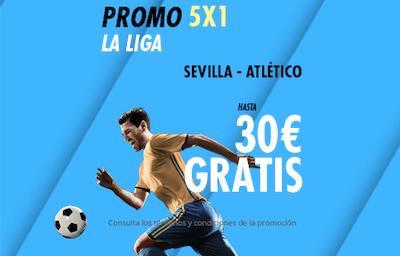 Gana 30 euros con promo Suertia en apuestas al Sevilla-Atletico