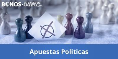 Casas con apuestas politicas sobre elecciones en España y el mundo