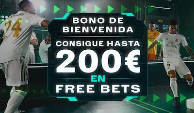 Bono Codere, bonificación de hasta 200 euros para nuevos jugadores.