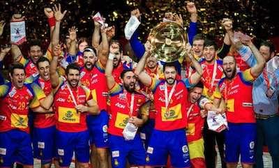 Gana España en las apuestas al europeo de Balonmano