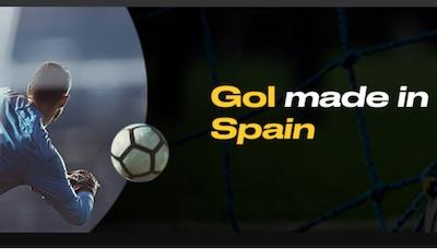Promocion de apuestas en la Premier en Bwin: Gol Made in Spain.