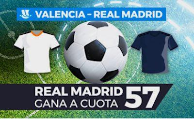 Megacuota Paston en las apuestas al Valencia vs Real Madrid de la Supercopa 2019