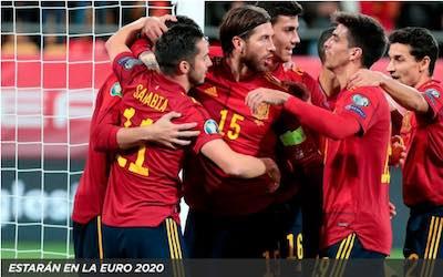 Apuestas a la convocatoria de España en la Eurocopa 2020 en Kirolbet