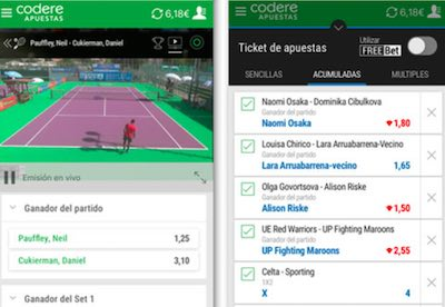 App de Codere para movil Android y iPhone