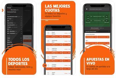 Todo los deportes y cuotas de 888sport en la app para iOS