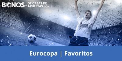 Pronostico equipos favoritos en la Eurocopa 2021