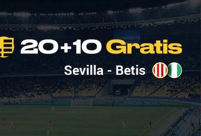 Promo 20+10 en Bwin: Gana 10 euros de apuestas gratis con el Sevilla vs Betis