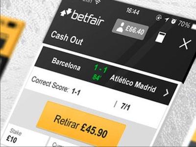 App de Betfair para Android y dispositivos iOS