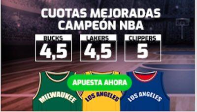 Cuotas mejoradas en apuestas deportivas campeón NBA en Betfred