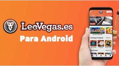 App de Leovegas para Android - España