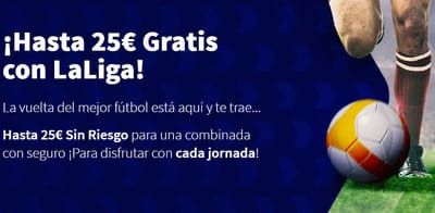 Promo de Betsson en apuestas combinadas a La Liga
