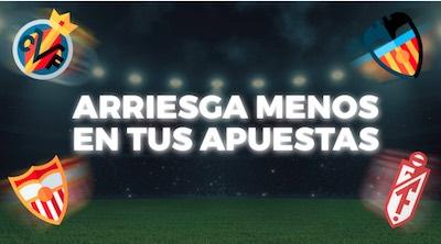 Promo Casino Gran Madrid apuestas Sevilla vs Granada  y Villarreal vs Valencia